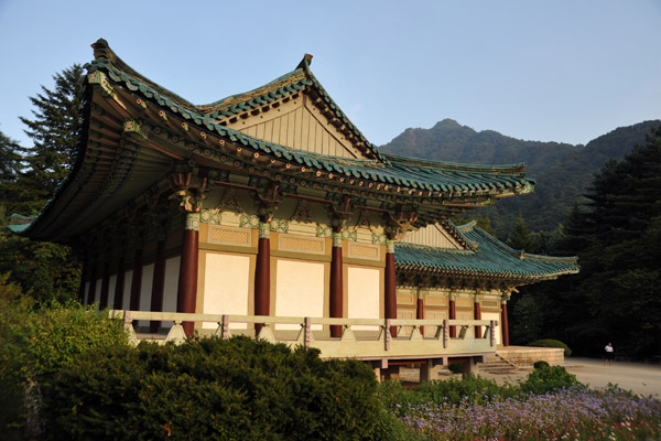 Archive of Buddhist Scriptures, a post-Korean War library, Pohyong Temple