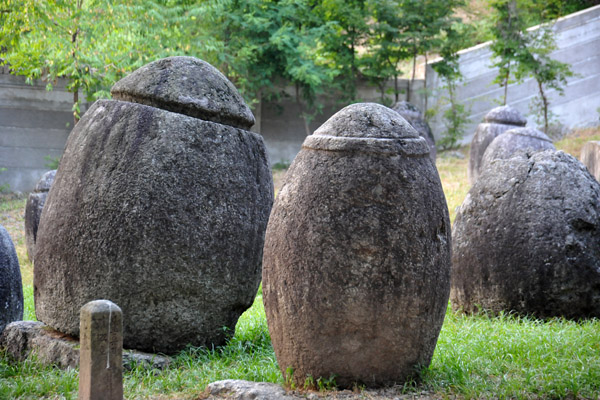 The stupas date from the late Koryo Dynasty (13-14th C.)