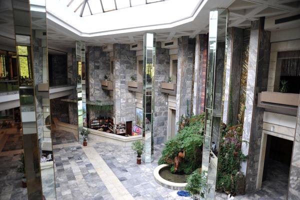 Lobby of the Hyangsan Hotel