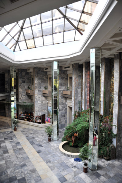 Lobby of the Hyangsan Hotel