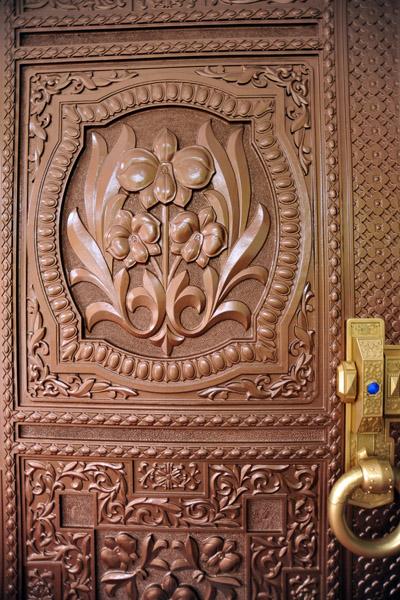 Door detail, International Friendship Exhibition