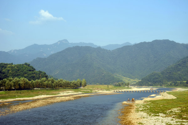 Chongchon River as we near the Mount Myohynag