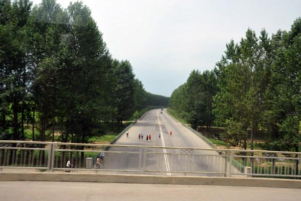 Nearing Pyongyang