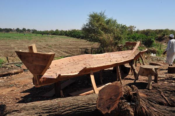 Traditional wooden boat-building, Omdurman