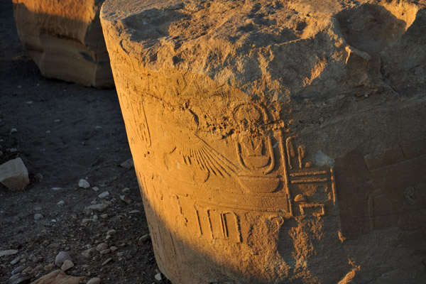 Hieroglyphics, Temple of Soleb