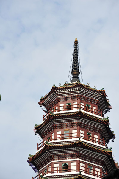 Top tiers of the Flowery Pagoda, 1097 AD