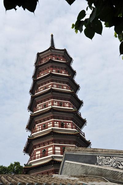 Flowery Pagoda, Temple of the Six Banyan Trees