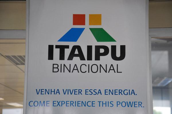 Itaipu Binacional advertisement - Foz do Iguaçu Airport