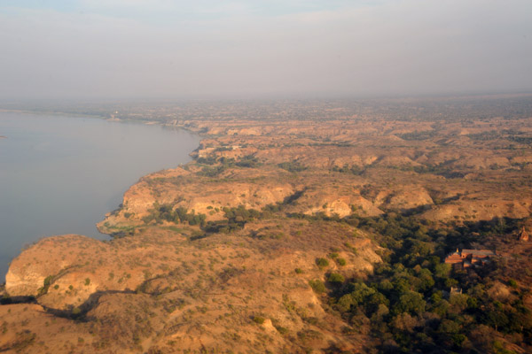 Irrawaddy River, Bagan, Burma (Myanmar