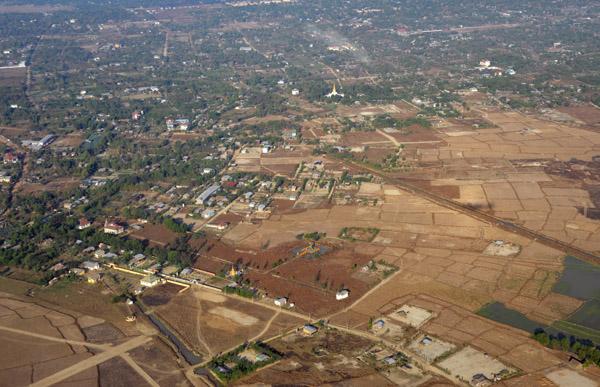 Northern suburbs of Yangon, Myanmar (Burma)