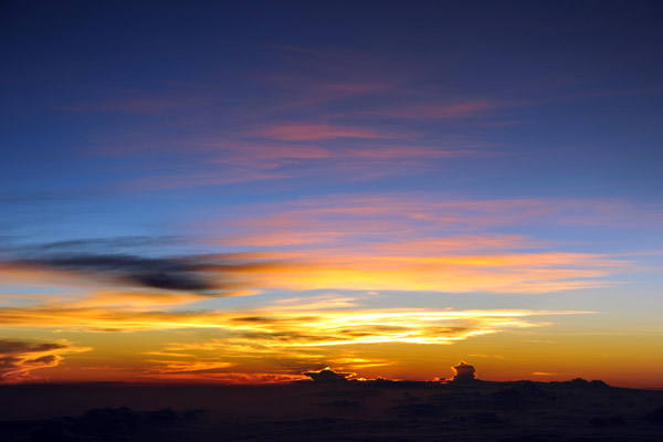 Dawn over Southeast Asia