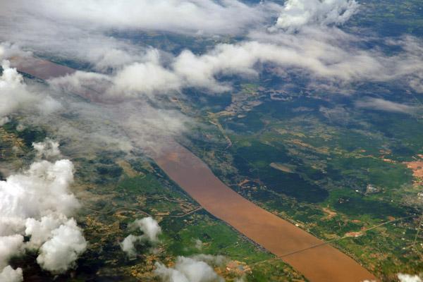 Lao-Thai Friendship Bridge over the Mekong River - Mukhdahan, Thailand & Savannakhet, Laos