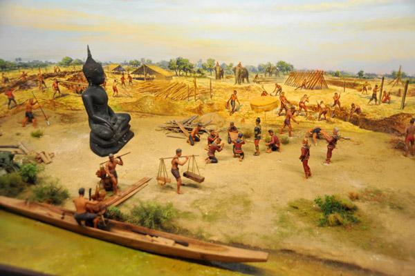 Ayutthaya City Founded by King Ramathibodi I (King U-Thong)