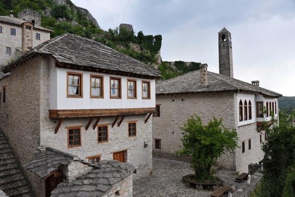 16th-17th C. Gavrankapetanovic House, damaged in 1993, restored 2003