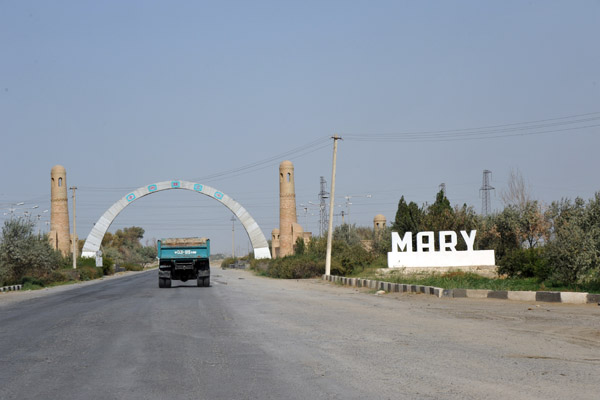 Welcome to Mary, Turkmenistan (Mar-ee)