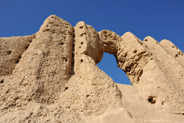 The Greater Kyz Kala was built by the Sassanians and were in use until the Mongol conquest 600 years later