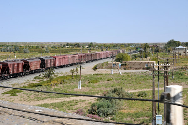 Freight train, Turkmenistan