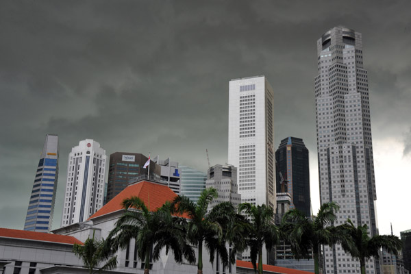 Singapore Skyline and Parliament