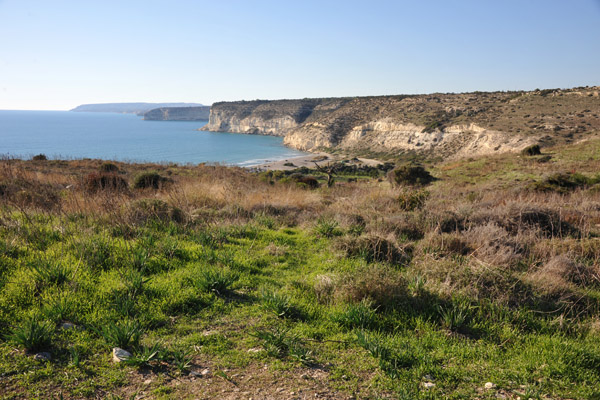 View from the Earthquake House, Kourion - Cyprus