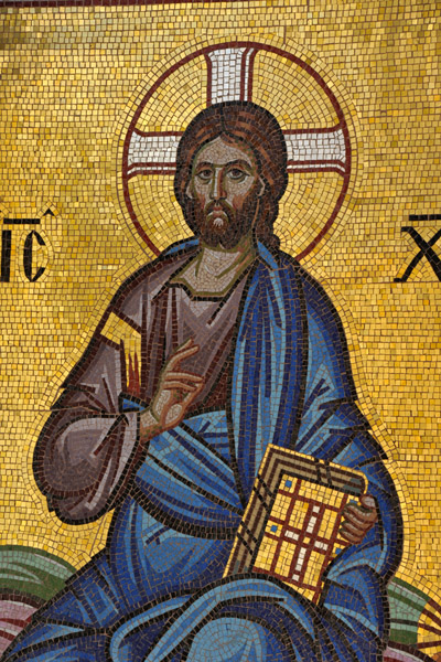 Mosaic of Christ - Kykkos Monastery