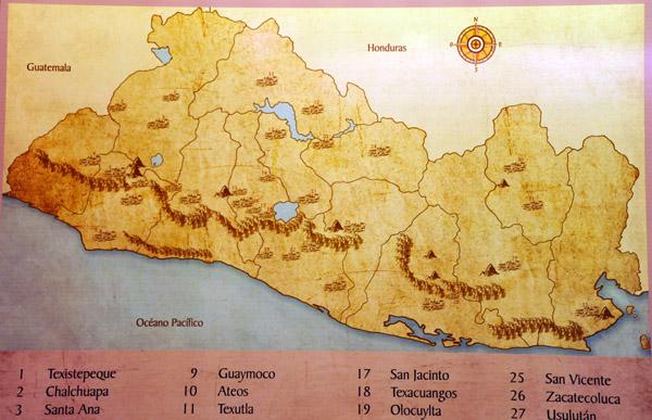 Early Christian sites in El Salvador