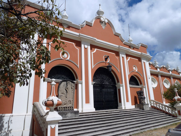 Most tourists avoid Guatemala City like the plaque, but the National Archaeological Museum is highly worthwhile