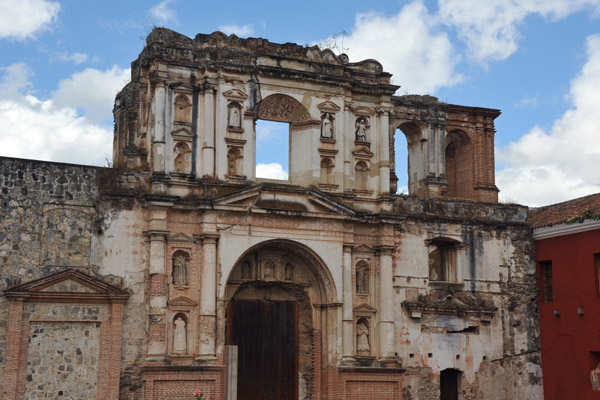 Ruins of the Jesuit Church, 4a Calle Pte, Antigua Guatemala