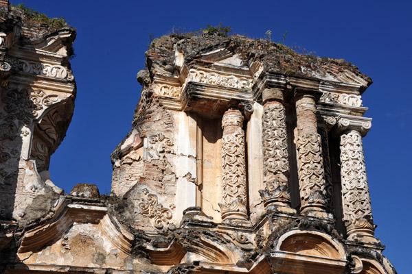 Ruins of the Iglesia del Carmen, Antigua Guatemala