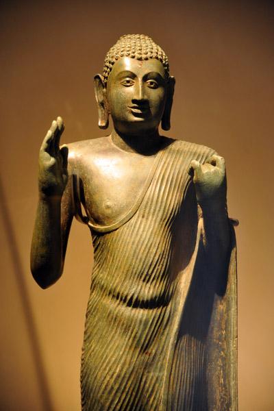 Tallest solid cast bronze Buddha in Sri Lanka
