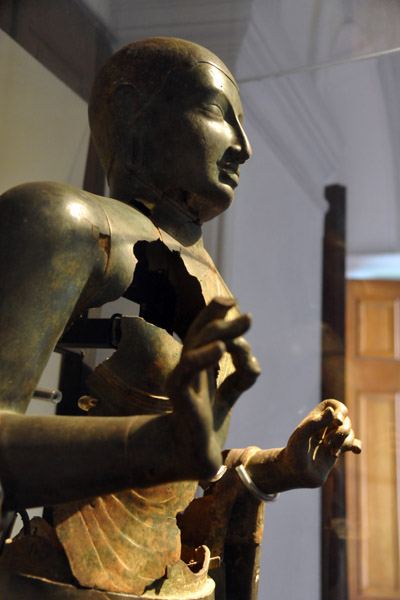 9-10th C. Buddha showing deterioration
