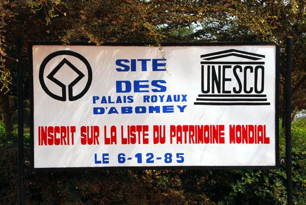 UNESCO World Heritage Site - Palais Royaux dAbomey, Bénin