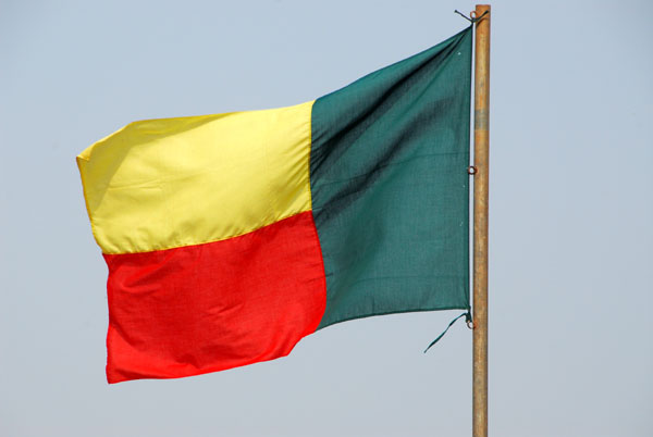 Flag of the Republic of Benin