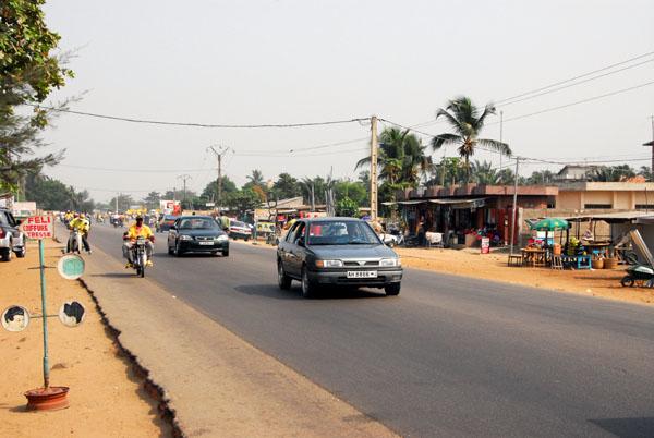 Benins coastal highway