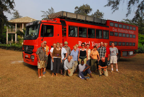 The end-of-trip group shot, Rotel Tours