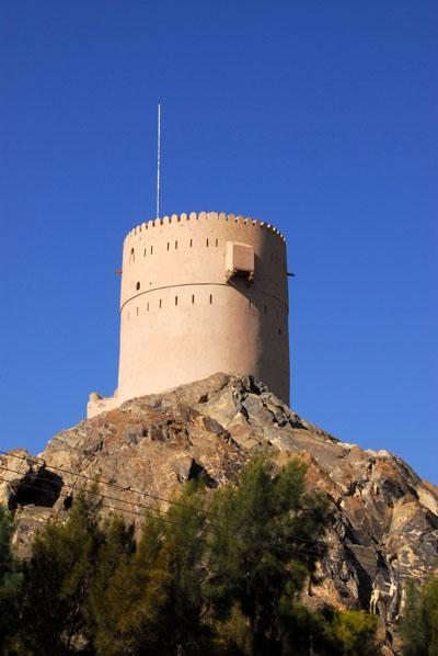 Watchtower on the outskirts of Nizwa