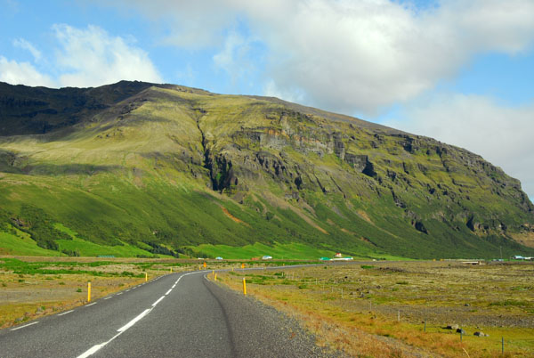 Iceland Ring Road east of Skaftafell National Park