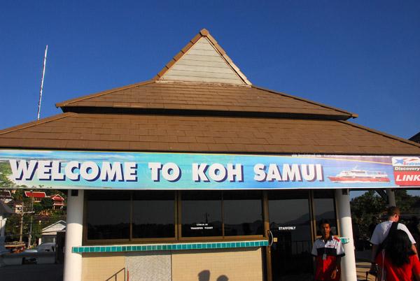 Welcome to Koh Samui, Gulf of Thailand