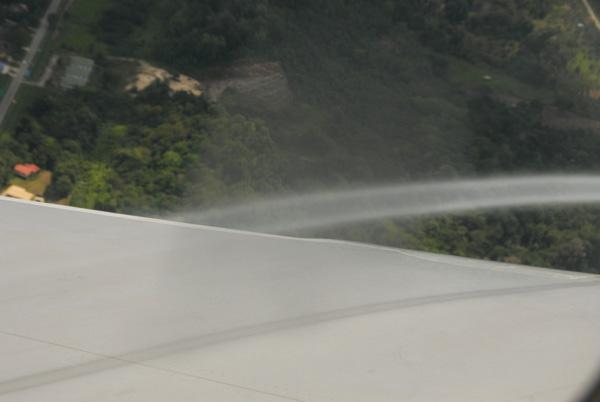 Condensation vortex in the warm humid air of Brunei
