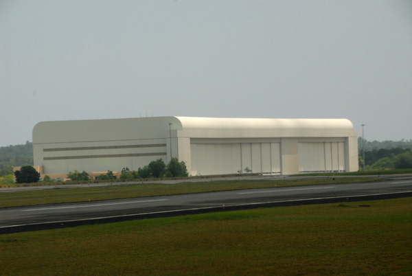 Hangar at Brunei Airport