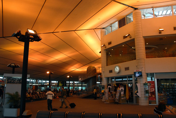 The terminal of Brunei Airport