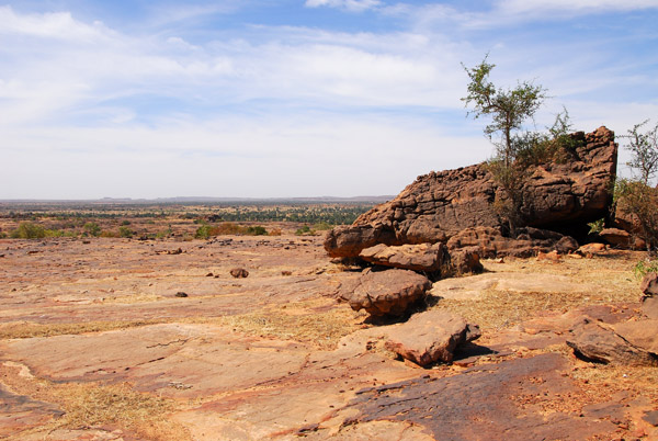 Dogon Country looks a bit like the American west in places
