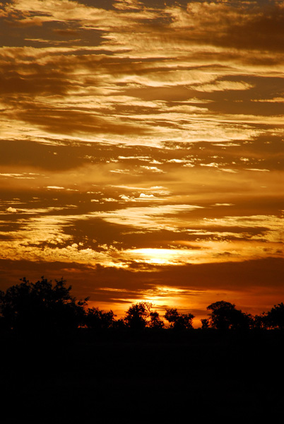 Sunset, Dogon Country