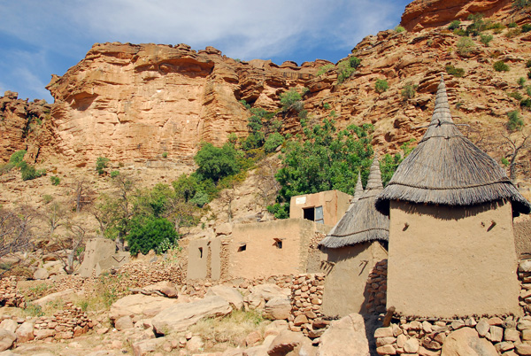 Village of Tereli, Dogon Country, Mali