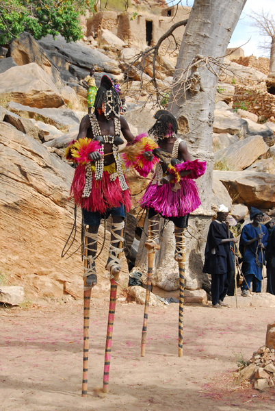 ...but the costume is said to imitate Fulani women