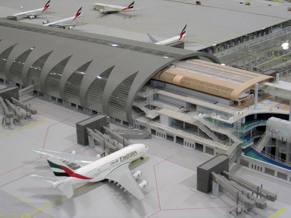 The new Terminal 3, Dubai International Airport