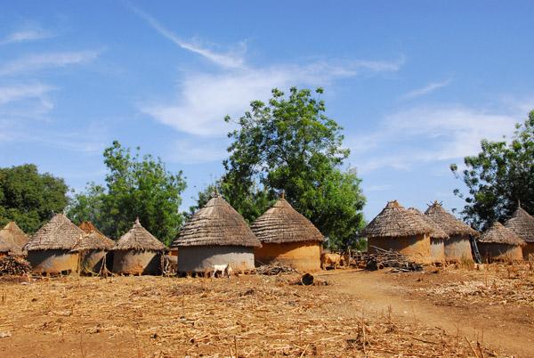 Dilia, Mali, between Mahina and Manatali