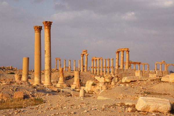 Diocletian Camp, Palmyra