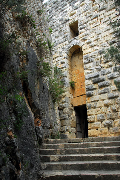 The modern entrance to Saladin Castle