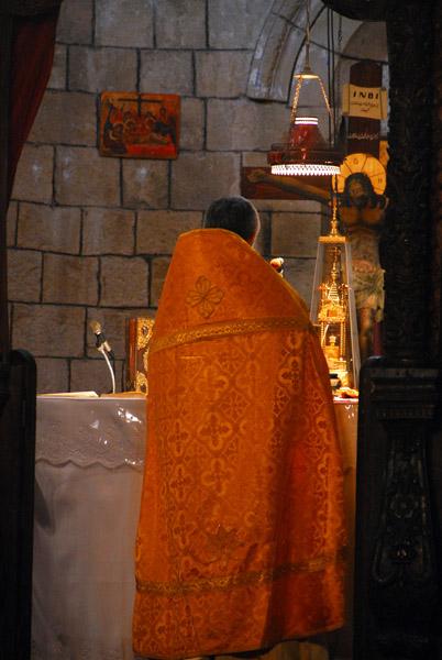 Orthodox priest, Monastery of St. George