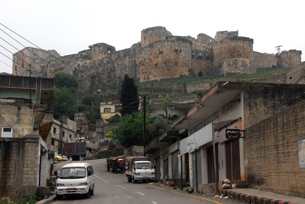 Village at the base of the Krak des Chevaliers